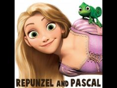 How to Draw Rapunzel and Pascal from Tangled with Easy Step by Step Tutorial - How to Draw Step by Step Drawing Tutorials