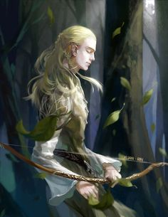 Legolas. He went to Rivendell as a messenger and took part in the Fellowship of the Ring. In Lorien he became very friendly with Gimli, a friendship which was maintained for the rest of their lives.