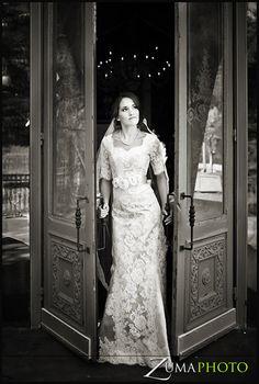 #Modest Wedding dress