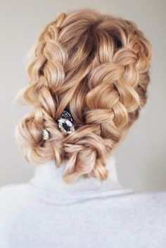 Updos Braids on Thin Hair picture1
