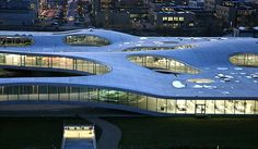 Rolex learning center Lausanne -