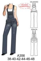 pantalones Jumpsuit Pattern, Pants Pattern, Crochet Drawstring Bag, Baby Overalls, Dress Sketches, Jeans Jumpsuit, Fashion Design Sketches, Dress Sewing Patterns, Sewing Clothes