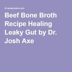 images about Bone Broth Is AWESOME! Bone