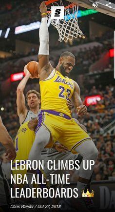 Slam Dunk, Michael Jordan, Lebron James Lakers, Sport Icon, Magic Johnson, King James, Los Angeles Lakers, Workout, Motivation