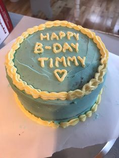 Happy Late Birthday, Girl Birthday, Birthday Cake, Pretty Cakes, Cute Cakes, Timmy T, Learn To Cook, Cute Food, Eat Cake