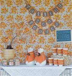 autumn tea party...