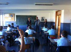 Nos visitó el alcalde de La Vall D. Oscar Clavell y la concejala de educación Dña. Olga Salvador; comieron con el director del colegio y luego visitaron nuestras instalaciones y a nuestros alumnos. Fue una visita muy agradable.