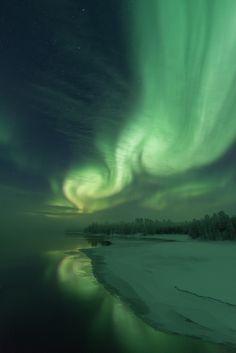 Aurora, Nature, Northern Lights, Green, Travel, Art, Art Background, Naturaleza, Viajes