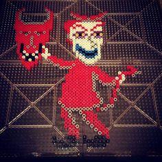 Lock Nighmare Before Christmas perler beads by jonny__darko