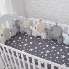 new style baby bed backrest cushion aimal elephant crib bumpers soft infant bed . - Baby Bed , new style baby bed backrest cushion aimal elephant crib bumpers soft infant bed . new style baby bed backrest cushion aimal elephant crib bumpers so. Baby Crib Bumpers, Baby Bumper, Cot Bumper, Baby Bedroom, Baby Room Decor, Quilt Baby, Bed Backrest, Diy Bebe, Baby Pillows