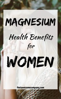 11 Health Benefits of Magnesium for Women Magnesium Benefits, Health Benefits, Bone Health, Women's Health, Mental Health, For Your Health, Health And Wellness, National Institutes Of Health, Diabetes Treatment