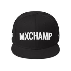 A good fitting hat is the perfect accessory to complete your outfit. Top it off with a beanie or mix it up with a FlexFit, Fitted or Snapback hat.  The number on both sides are just sample only, you can send your own number by adding note on the payment process. Snapback Hats, Champs, Zen, Beanie, Note, Number, Outfit, Accessories, Outfits