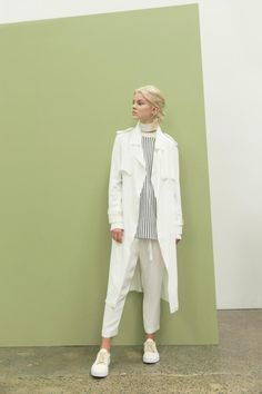The Jefferson Trench and The Jefferson Pant by C&M CAMILLA AND MARC