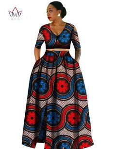 Women african Tradition 2 Piece Plus Size Africa Clothing Fashion Designs Dashiki african wax… Women african Tradition 2 Piece Plus Size Africa Clothing Fashion Designs Dashiki african wax prints for women clothing at. African American Fashion, African Fashion Ankara, Latest African Fashion Dresses, African Print Fashion, Africa Fashion, African Dashiki, African Style, Long African Dresses, African Print Dresses