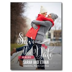 Lovely Request Save The Date Postcard Post Cards