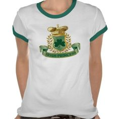 Irish Princess Tshirts