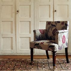 The Original Morris & Co - Arts and crafts, fabrics and wallpaper designs by William Morris & Company | Products | British/UK Fabrics and Wallpapers | Evenlode Trail (DKELEV304) | Pimpernel Weaves