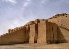 Ziggourat d'Our, Comme il est dit dans le récit biblique, les ziggourats étaient construites en brique.