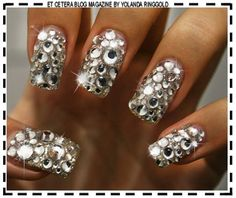 Junk Nails... not practical but so cute!