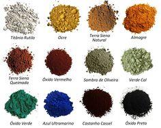Pigmentos nacionais