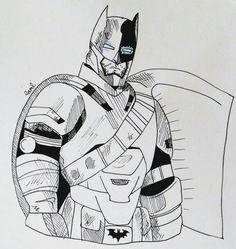 Batman vs Superman !! #batman #batmanvssuperman #benaffleck #benaffleckbatman