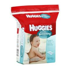 Huggies Naturally Refreshing Thick-N-Clean Baby Wipes, Cucumber and Green Tea, 184 count. Kimberly Clark http://www.amazon.com/dp/B003F8PTPK/ref=cm_sw_r_pi_dp_r2n9ub1ZW1D9M