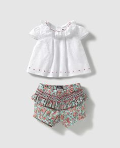 Dresses Kids Girl, Heirloom Sewing, Smock Dress, Moda Online, Kids Girls, Smocking, Boho Shorts, Children, Clothes