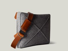 Wool Flatpack Bag by Hard Graft • Selectism