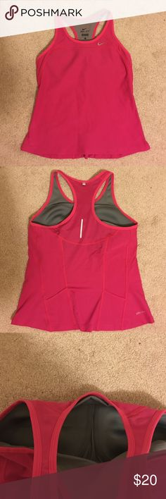 Nike Dri-fit tank Brand new (but no tag) Nike tank. Selling it because it doesn't fit my anymore Nike Tops