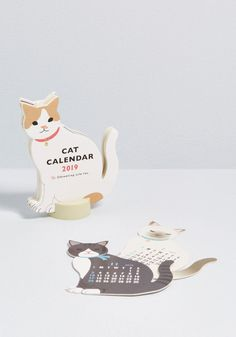 Handcrafted from Wood Cat Alarm Clock Fun Gifts for Women Girls /& Cat Lovers