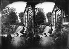 Lydia Williams and dog Pogs, alongside her cottage at Carlyle Street, Napier, ca 1890 Reference Number: 1/1-025646-G Photographer William Williams. Glass negative Photographic Archive, Alexander Turnbull Library  Find out more about this image from the Alexander Turnbull Library.