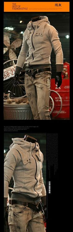 Juicyandstone Mens slim fit design stylish Jacket