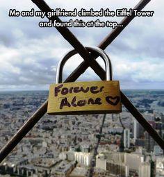 Forever Alone Lock