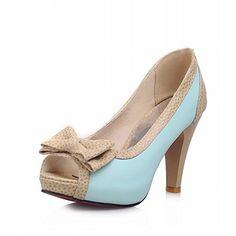 Charm Foot Fashion Bows Womens Platform High Heel Peep Toe Pumps Shoes (10, Blue) Charm Foot http://www.amazon.com/dp/B00S668HLO/ref=cm_sw_r_pi_dp_CQIavb0GYMHB2