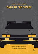 Best Sellers - Featured Art - No183 My Back to the Future minimal movie poster by Chungkong Art