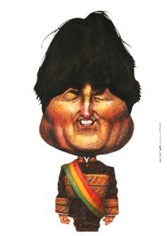 Evo Morales. Más: http://www.telam.com.ar/efemerides