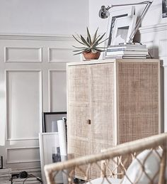 A comprehensive look at the new IKEA STOCKHOLM 2017 collection that features beautiful rattan furniture and Nordic blue home accessories. Rattan Furniture, New Furniture, Furniture Design, Rattan Armchair, Grey Armchair, Wicker Couch, Wicker Trunk, Wicker Bedroom, Accent Furniture