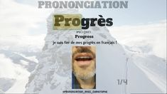 Improve your French pronunciation ! French Language Lessons, French Language Learning, French Lessons, Basic French Words, How To Speak French, French Alphabet Pronunciation, Learn French Online, French Verbs, Learning French