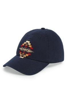 a798895714754 PENDLETON TUCSON EMBROIDERED CAP - BLUE.  pendleton