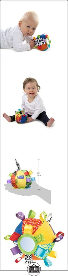 Playgro 0180271 - Pelota de tela con texturas, espejo, etiquetas y sonajero  ✿ Regalos para recién nacidos - Bebes ✿ ▬► Ver oferta: http://comprar.io/goto/B003WONKIU