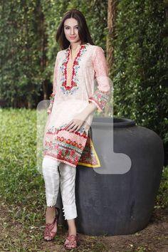 Nishat Linen Chic Pret Summer Collection 2016-