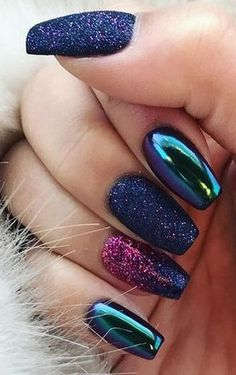 Stunning Mauve Color Nails To Squeal With Delight From – Nail Art Summer Acrylic Nails, Best Acrylic Nails, Acrylic Nail Designs, Chrome Nails Designs, Dark Nail Designs, Natural Nail Designs, Stylish Nails, Trendy Nails, Fancy Nails