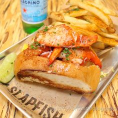 """""""Specializing in Business Development & Marketing  #grandopening #slapfish #lobster #seafood #fresh #sustainable #chefgruel #happy #yummy #delicious…"""""""