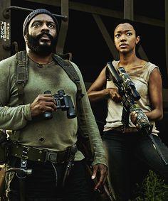 Tyreese & Sasha, S5