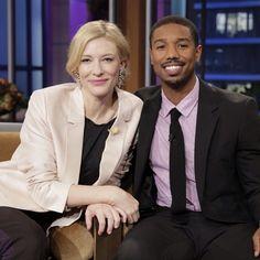 Cate Blanchett and Michael B. Jordan (7/25/13) #TonightShow