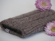 Cell Phone iPhone Case Hand Knitted in Soft by ChiChiMarieDenmark, $15.00