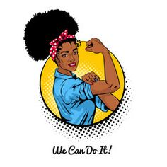 Pop art sexy strong african girl in a circle on white background. Classical american symbol of female power woman rights protest feminism. Vector illustration in retro comic style. African American Girl, African Girl, American Art, Bright Background, Cartoon Background, Arte Pop, Black Girl Art, Black Girl Magic, Black Art Pictures