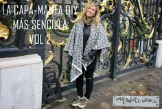 LA CAPA MANTA DIY MÁS SENCILLA VOL.2 | MY WHITE IDEA DIY
