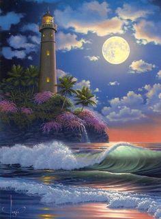 """Http://pix.avaxnews.com/avaxnews/ee/66/000166ee_medium.jpeg. John Al Hogue. Conocido como el """"Maestro Moderno de la Luz"""", es uno de los mejores artistas de la naturaleza venta en Hawai, Florida y Japón. Al utiliza pinceladas ligeras y detallados para..."""