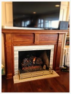 Decor, Hearth, Gas, Fireplace Logs, Home Decor, Oak, Gas Logs, Fireplace
